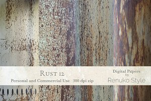 Rust 12 Photoshop Textures