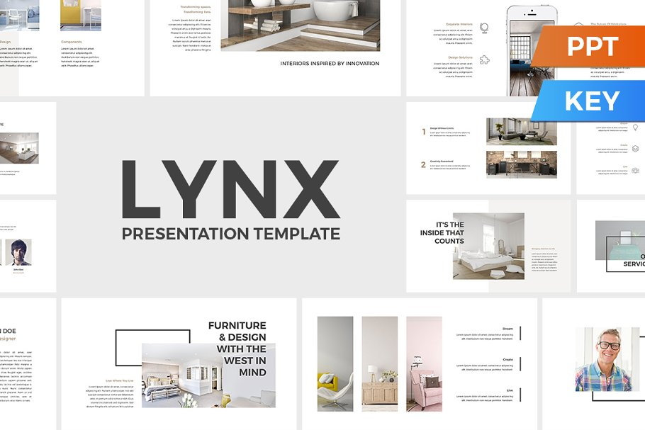 Lynx Presentation Template ~ Keynote Templates ~ Creative Market