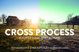 15 Cross Processing effects