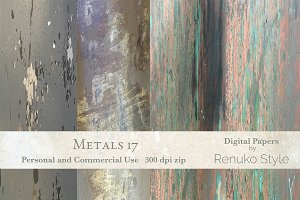 Metals 17 Photoshop Textures