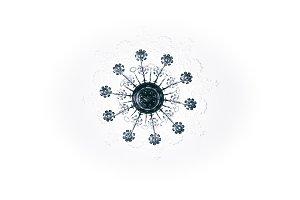 chandelier symmetrie
