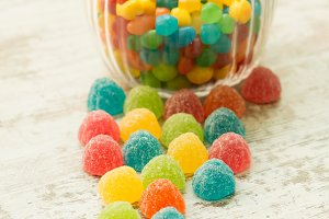 Color candies