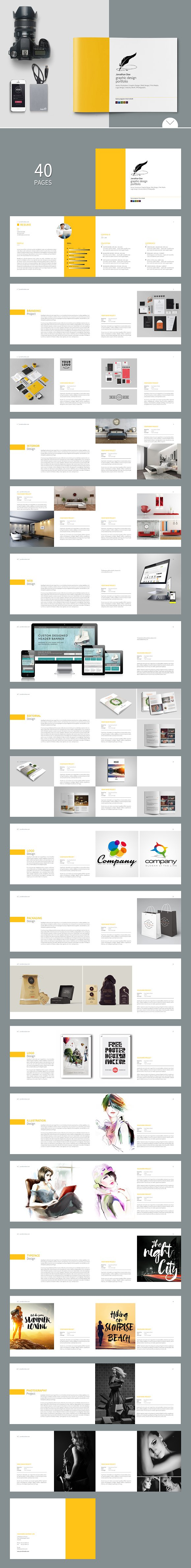 graphic design portfolio template brochure templates on creative graphic design portfolio template brochures