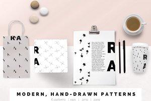 Modern, Black + White Patterns