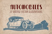 Vintage Cars and Automobiles
