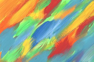 Abstract color acrylic