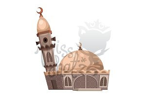 Cartoon Mosque 4