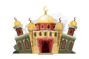 Cartoon Mosque 2