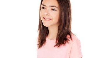 Pretty pre teenager girl