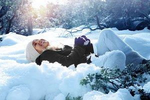 snow laugh