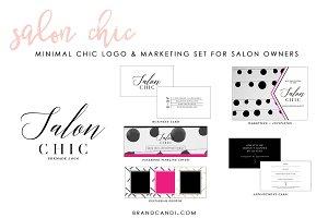 Salon Logo & Marketing Kit