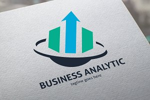 Business Analytic Logo