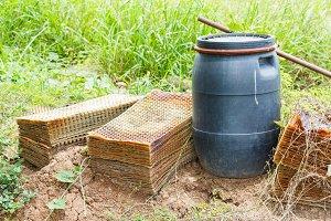 Rice seeding tray