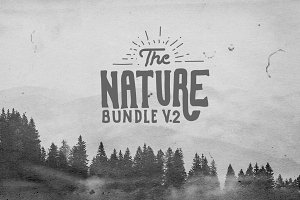 Nature Bundle V2 Logo Creator