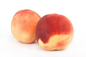 Peaches fruits
