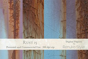 Rust 15 Photoshop Textures