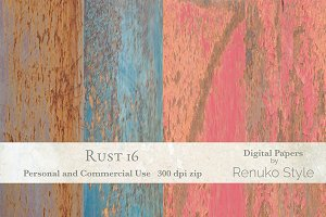 Rust 16 Photoshop Textures