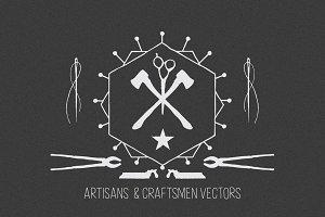 Artisans & Craftsmen Vector Bundle