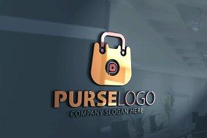 Purse-P Letter Logo