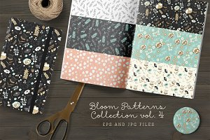 Bloom Patterns Collection vol.4