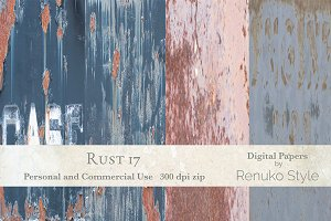 Rust 17 Photoshop Textures