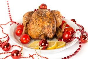 Tasty Christmas chicken