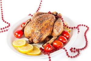 Tasty Christmas chicken