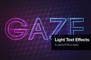 Light Text Effects