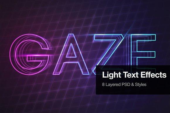 Light Text Effects