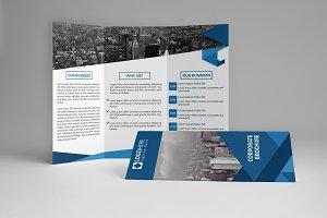 Modern Trifold Brochure Template