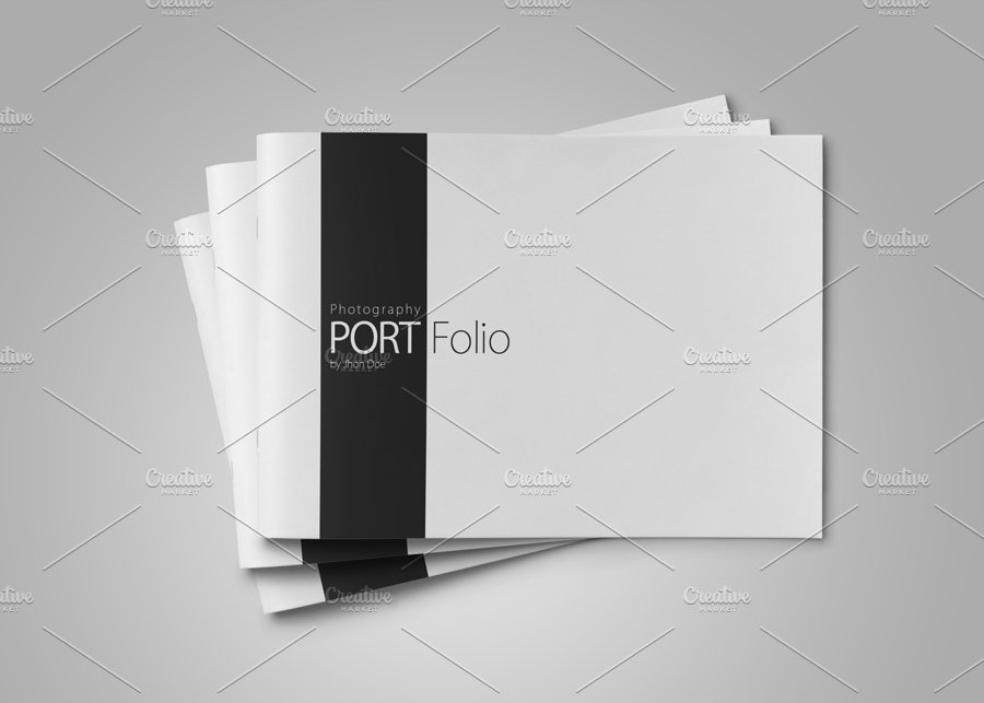 photography portfolio vol 3 brochure templates creative market. Black Bedroom Furniture Sets. Home Design Ideas