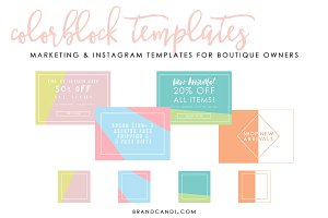 Marketing & Social Media Templates