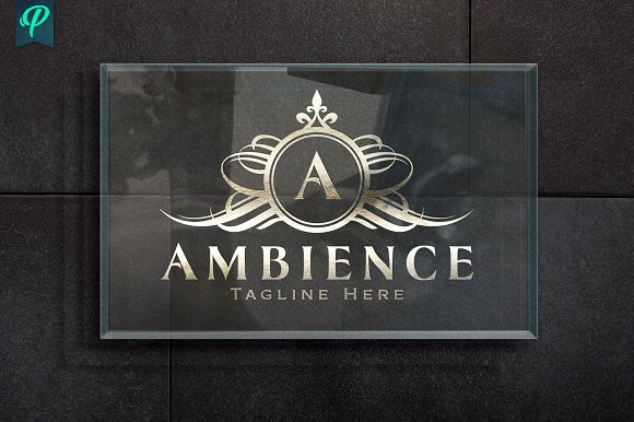 Ambience Luxury Logo Design Logo Templates Creative