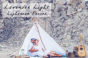 Lavender Light Pastel LR Preset