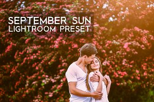 September Sun Warmth LR Preset