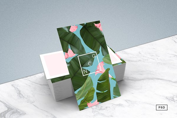 Wild Flower Business Card Template