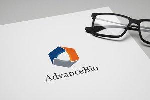 AdvanceBio Logo Template