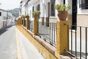 Typical spanish village.