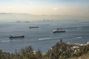 View from Gibraltar.