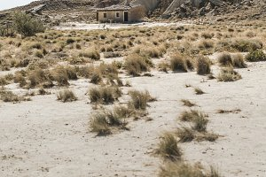 Lonely house in the wild west