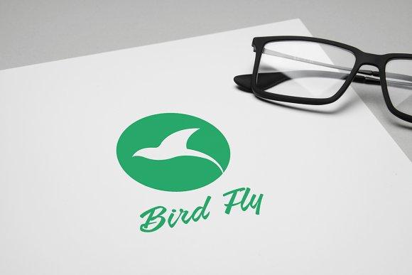 bird fly logo template logo templates creative market