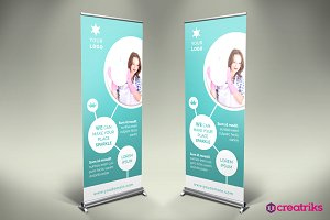 Cleaning Services Roll Up Banner-v28