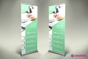 Finance Roll Up Banner - v034
