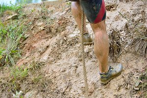 Obstacle race.