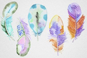 Feather set9