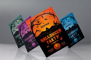 Halloween Flyer Template v01
