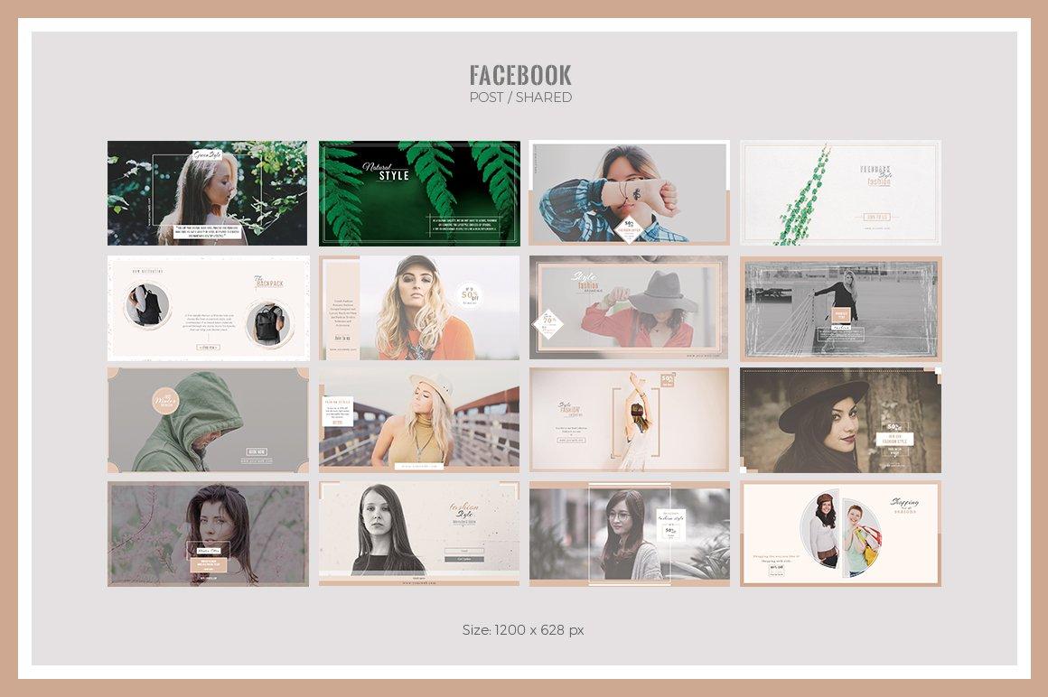 Lifestyle Social Media Pack