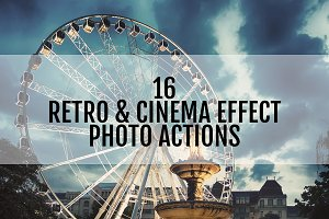 Retro + Cinema Effects Actions