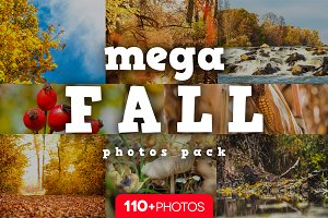 MEGA Fall photos pack /110+ pics