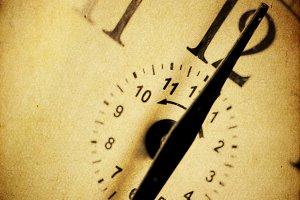 Vintage clock background